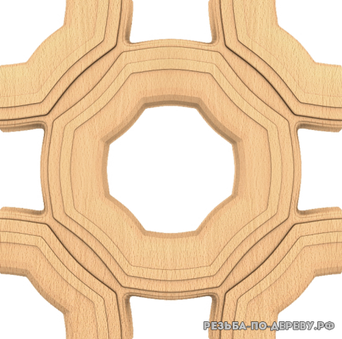 Панель №169 из дерева