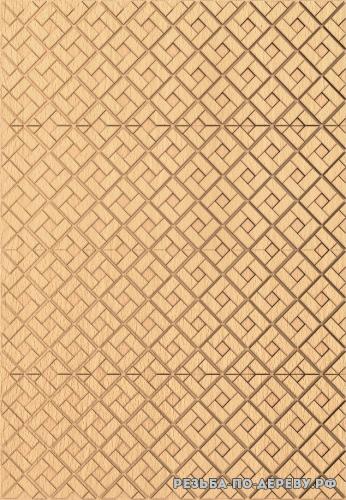 Панель №122 из дерева