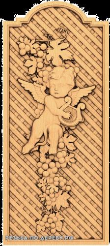 Ангел №26 из дерева