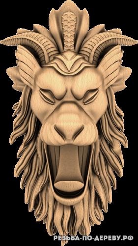 Сказочное существо из дерева
