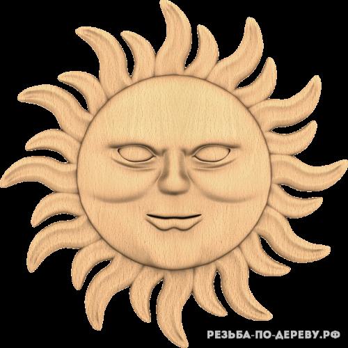 Солнце №4 из дерева