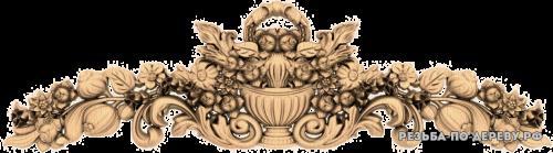 Резной Декор (1283) из дерева