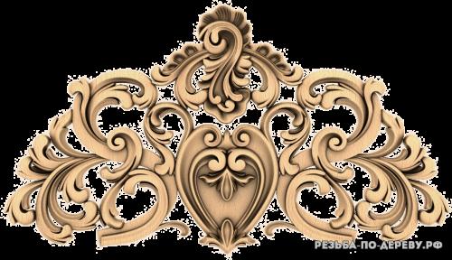 Резной Декор (1303) из дерева