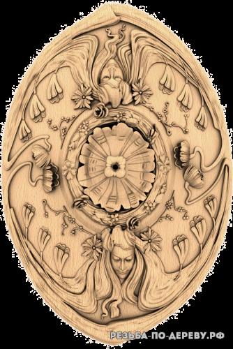Розетка (645) из дерева