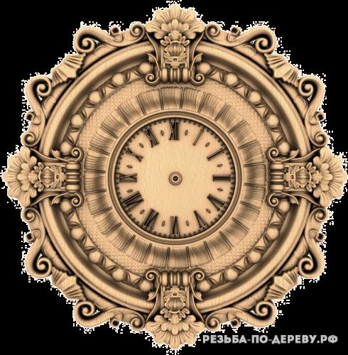 Резные Часы #28