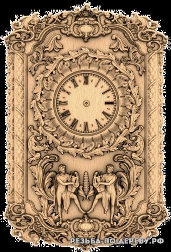 Резные Часы #38