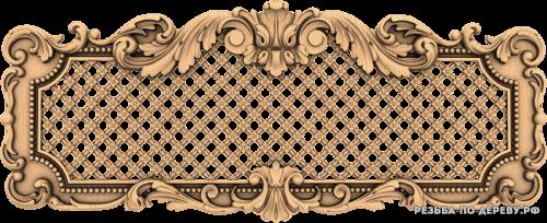 Декоративная Решетка №28 из дерева