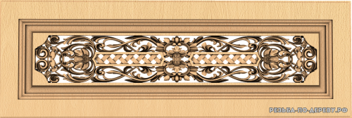 Декоративная Решетка №20 из дерева