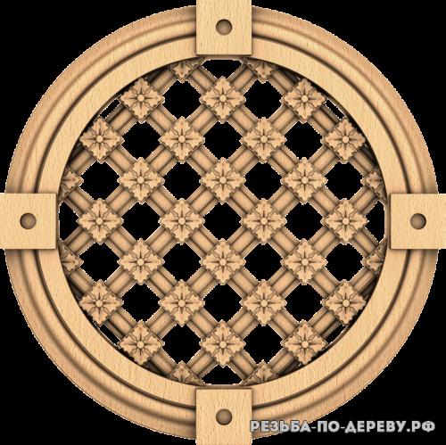 Декоративная Решетка №41 из дерева