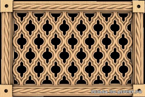Декоративная Решетка №31 из дерева