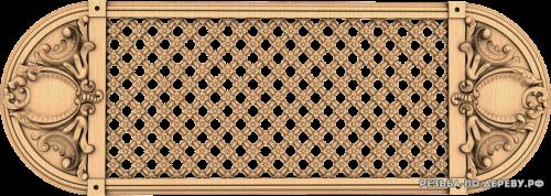 Декоративная Решетка №42 из дерева