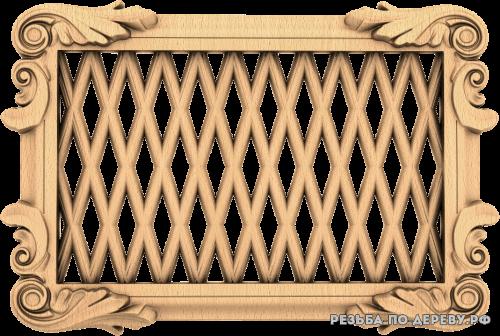 Декоративная Решетка №25 из дерева