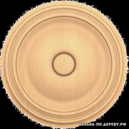 Розетка №232 из дерева