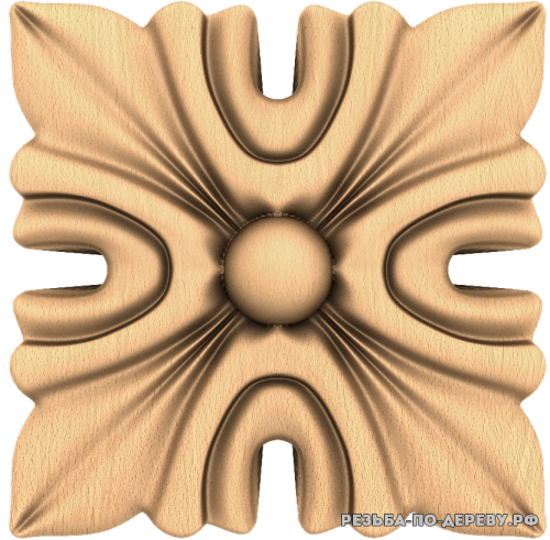 Розетка №221 из дерева