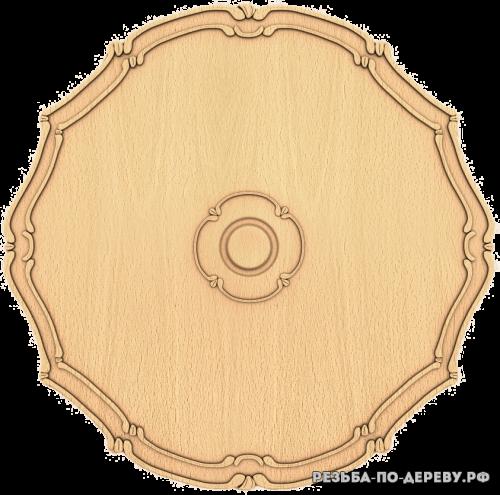 Розетка №225 из дерева
