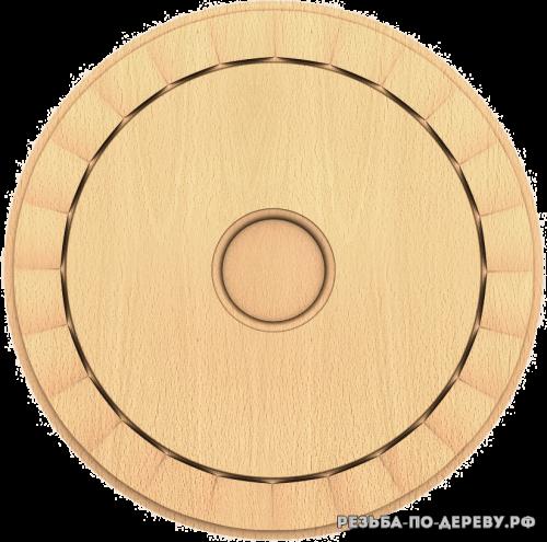 Розетка №228 из дерева