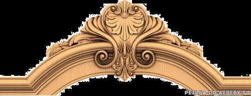 Резной Центральный декор #9 из дерева