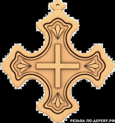 Крест #16 из дерева
